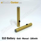 Joye 510 manual battery - 180mAh - Gold